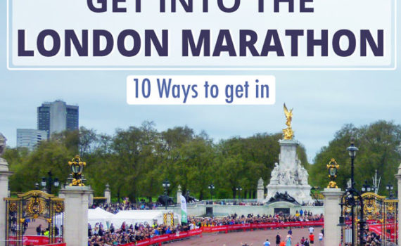 How to get into the London Marathon